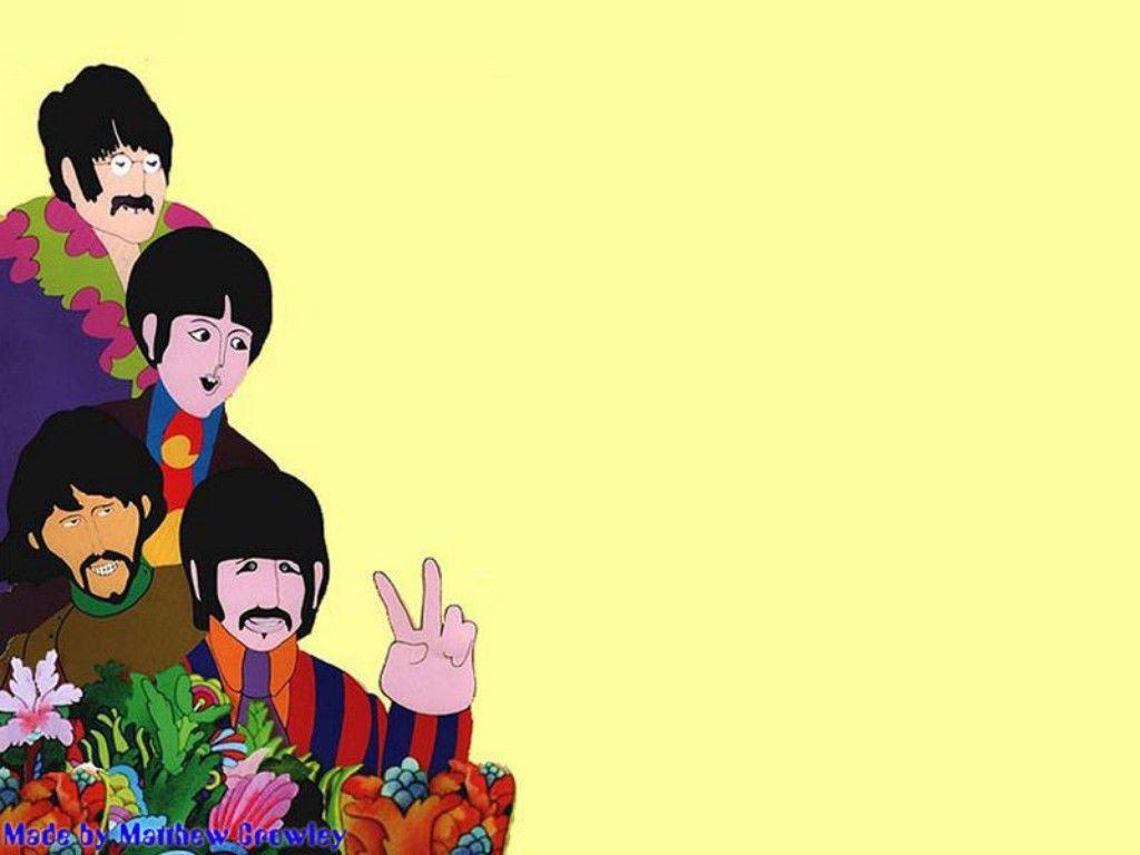 Yellow Submarine Wallpaper The Beatles Wallpaper 32228517 Fanpop
