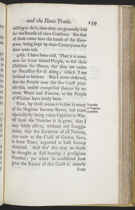 A New Account Of Some Parts Of Guinea & The Slave Trade -Page 159