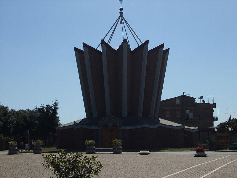 Fil: Calcata Chiesa St Cornelio e cipriano.jpg