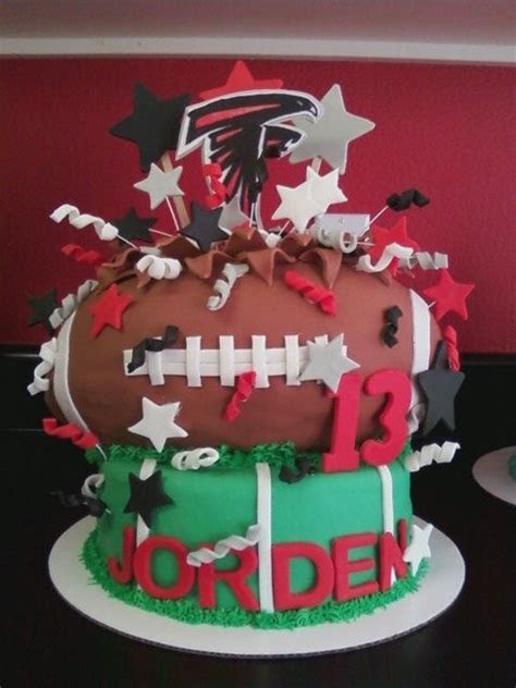 NFL Football Birthday Cakes & Cupcakes For Your Favorite