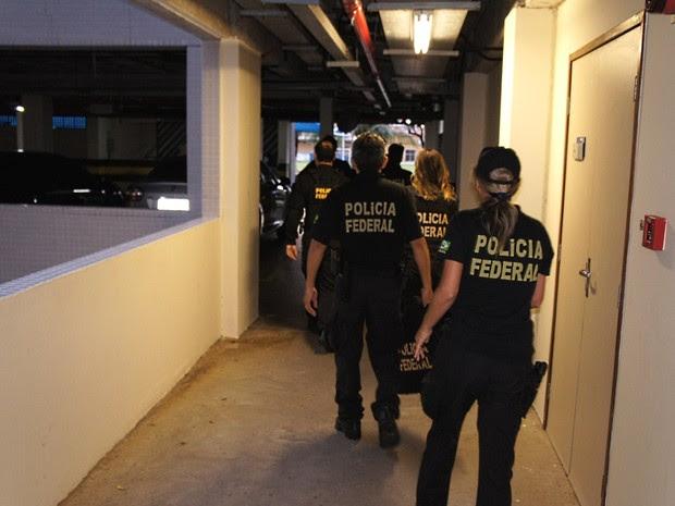 Operação Quimera V tem policiais federais do RN e da Paraíba (Foto: Divulgação / PF)