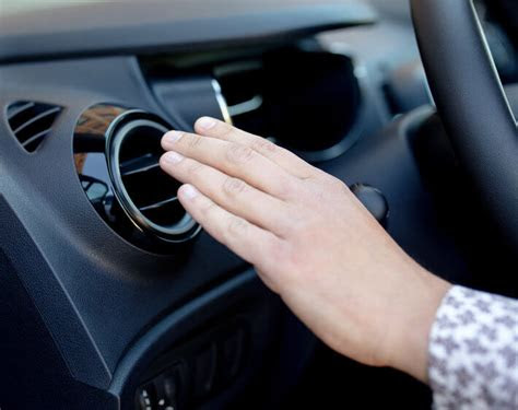 car air conditioner blows cold  warm completely