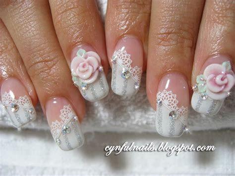 Nail art: Bridal nail art