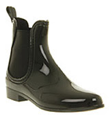 Juju Dug out chelsea welly boo Black rubber