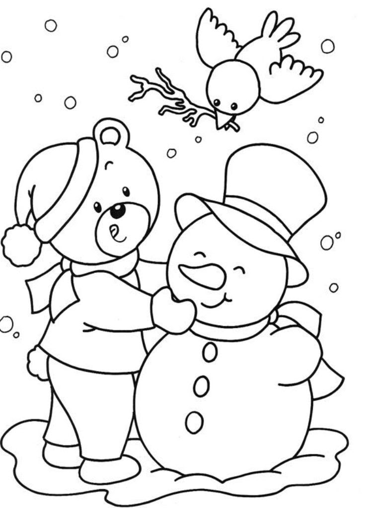 Winter Drawing For Kids at GetDrawings | Free download