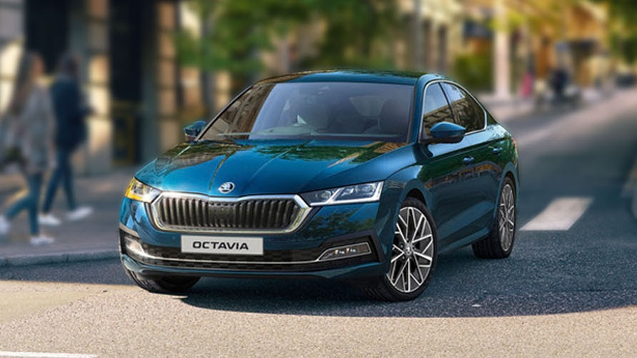 The new Octavia is one of four models Skoda has lined up for India in 2021. Image: Skoda