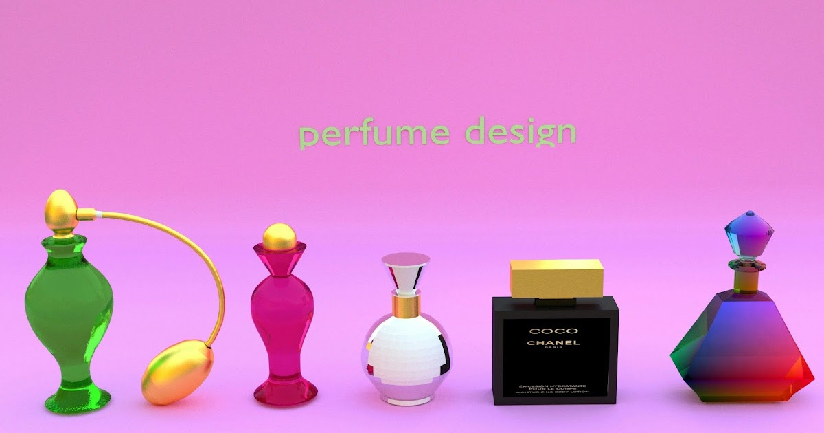 Perfume 3d Design