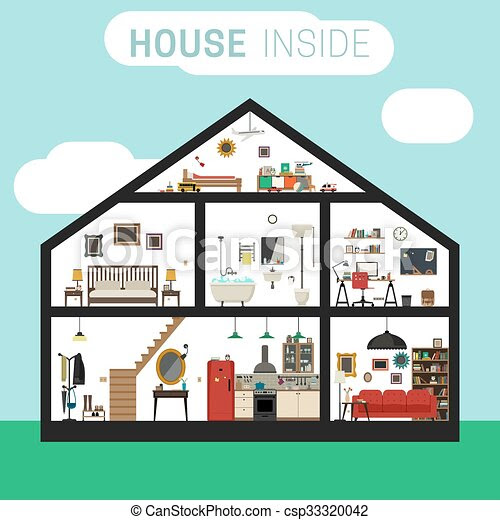 Dibujos De Casas Por Dentro Arquitectura Del Hogar Serartnet