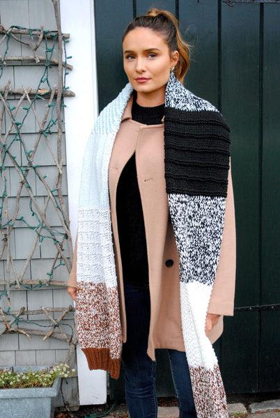 Knit Kit - Sleeve Island Scarf