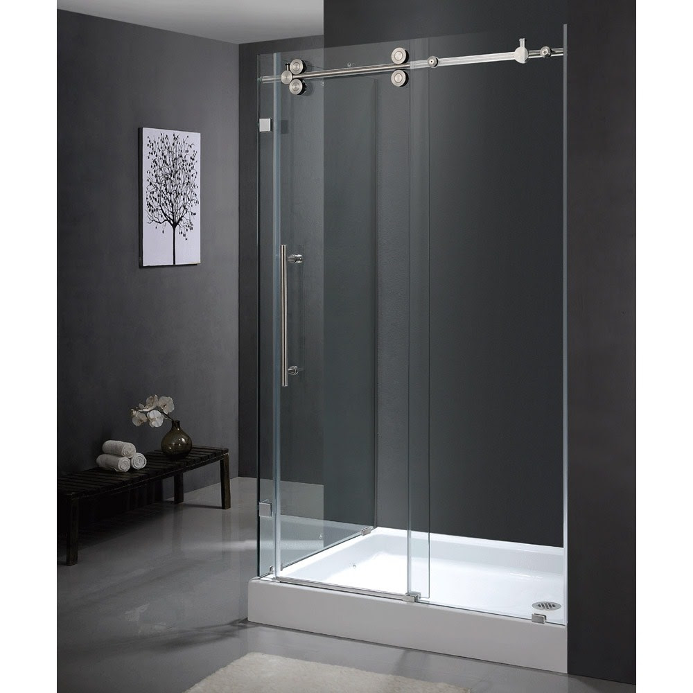 Sku Vg06051 36 48 Vigo Industries Frameless Rectangular Shower