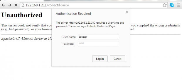 Apache Password Authentication