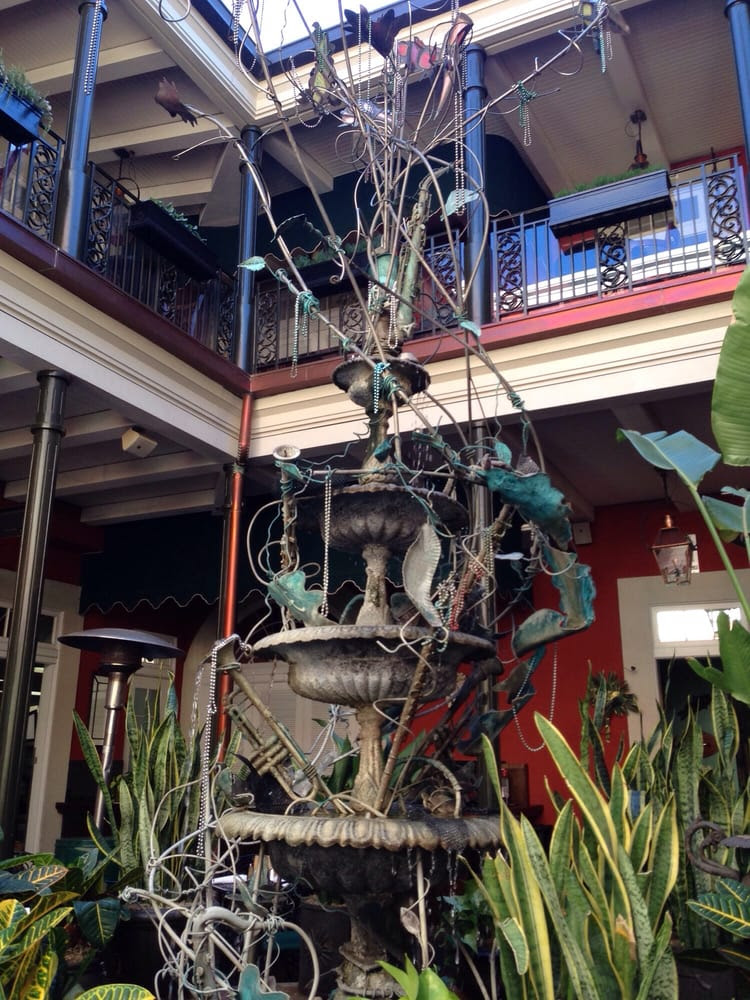 Ralph Brennan's Jazz Kitchen - Anaheim, CA, United States. The fountain at the entrance