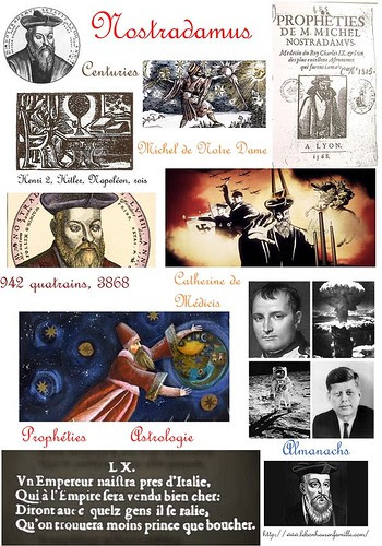 AAAAAAAAAAAAAAAAfiche grands personnages Nostradamus