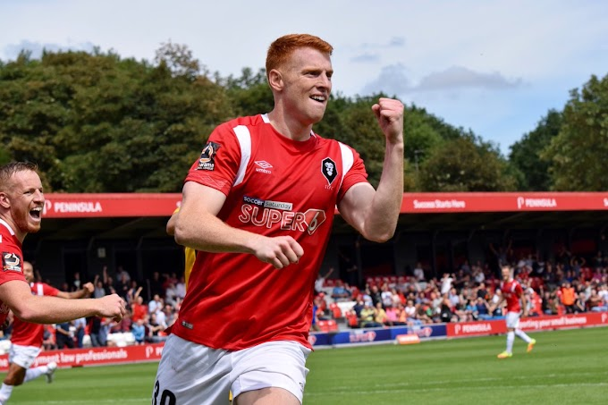 Rory Gaffney Happy to Take the Opportunity to Join the Saddlers
