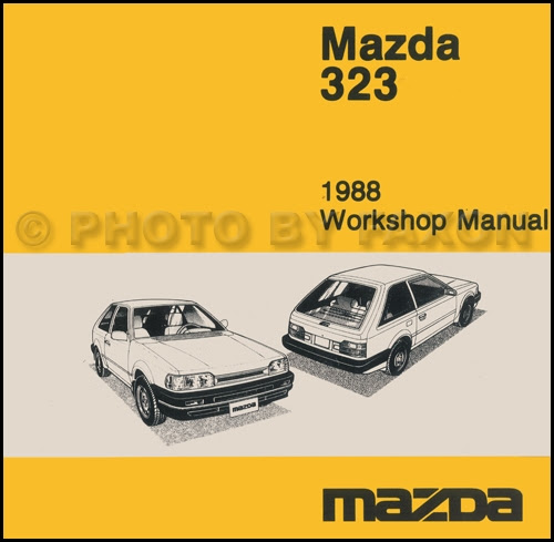 [DIAGRAM] 1987 Mazda 323 Sedan And Hatchback Wiring ...