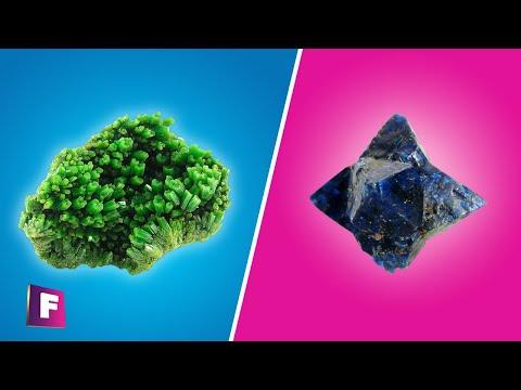 10 Minerales que tal vez no conocias parte #5