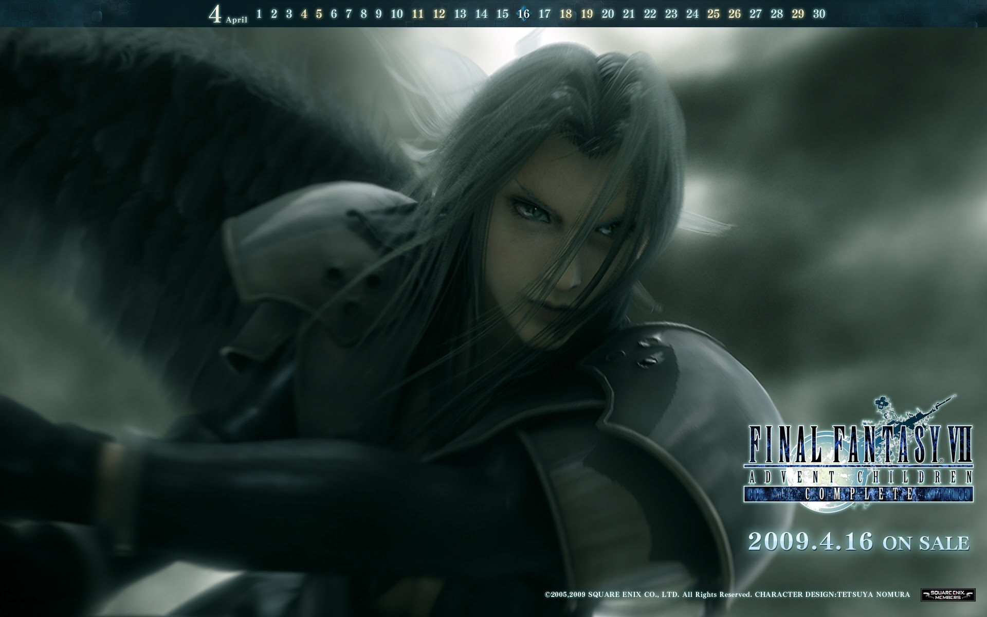 Final Fantasy Final Fantasy Vii Advent Children Sephiroth Video
