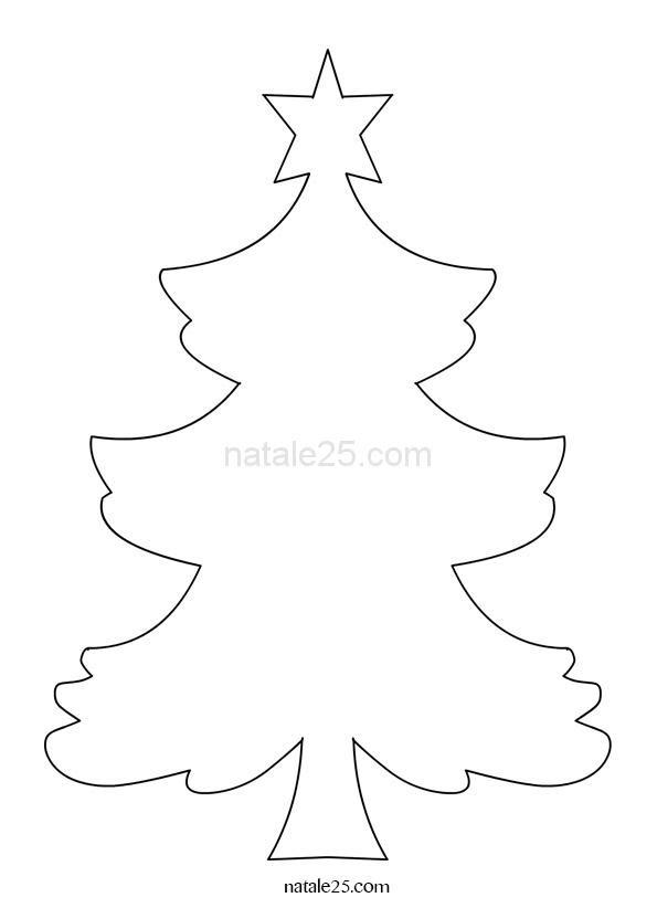 Albero Di Natale Da Colorare Natale 25