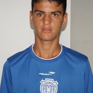 Cristiano, atacante do Monte Azul (Foto: Divulgação/Monte Azul)