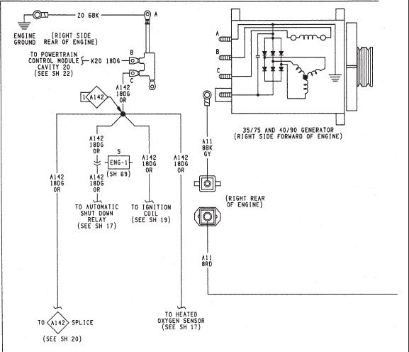 1992 Jeep Wrangler Alternator Wiring Wiring Diagram View A View A Zaafran It