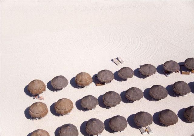 World Beaches from a Bird's Eye View