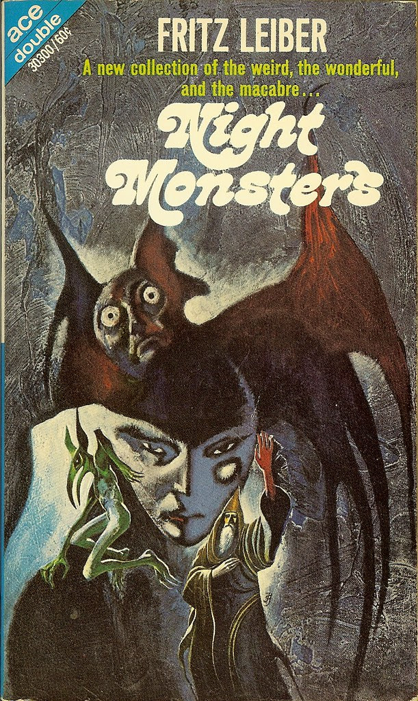 Jack Gaughan - Cover Illustration for Fritz Leiber - Night Monsters, 1969
