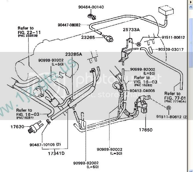 Wiring Diagram  30 2003 Lexus Es300 Vacuum Diagram
