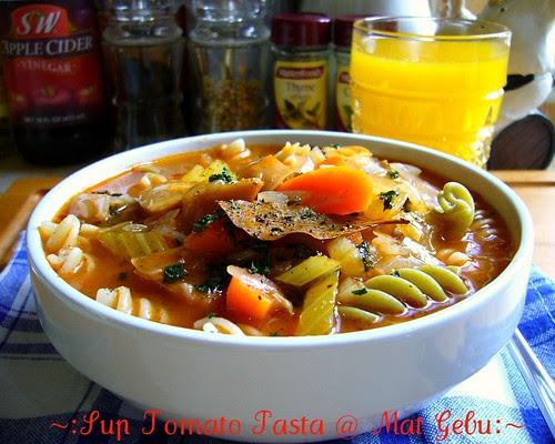 Sup Tomato Pasta