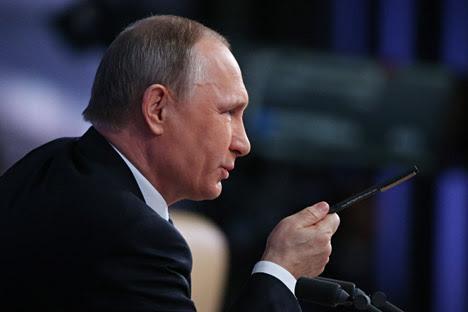"""Hình ảnh TT Putin: """"Không thấy bất cứ cơ hội nào để giao hảo với Thổ Nhĩ Kỳ"""" số 1"""
