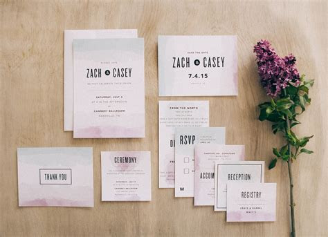 New Collection from Basic Invite   It Girl Weddings