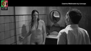 Catarina Wallenstein nua no filme O Dia da morte de Ricardo Reis