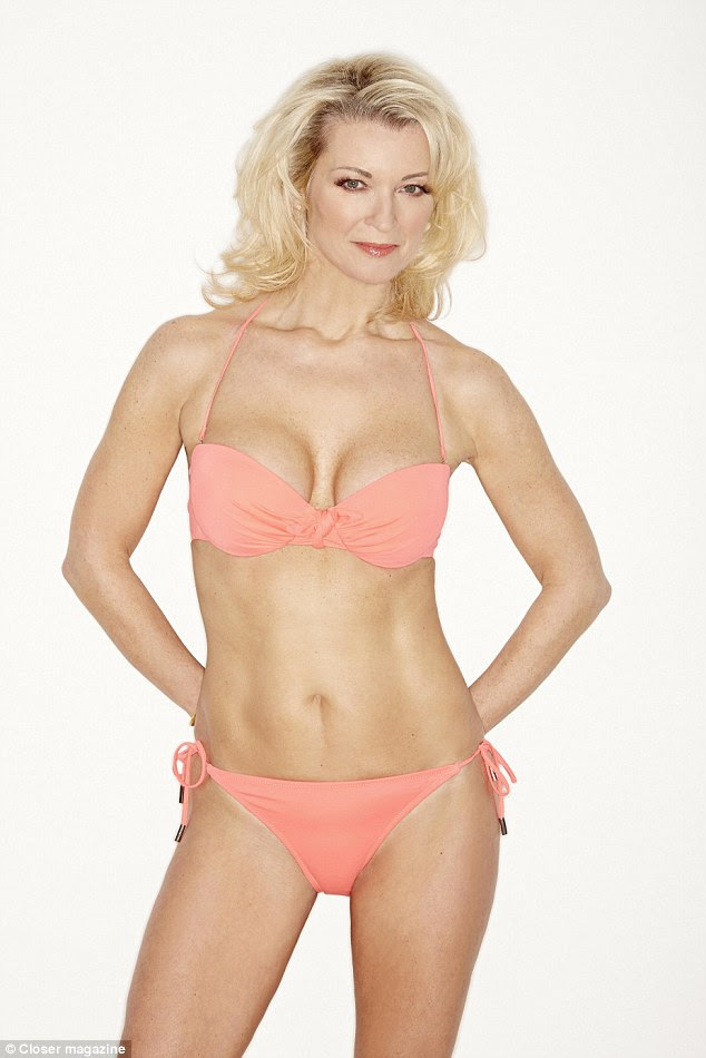 Proving that she's still got it, Gillian Taylforth has stripped down to show off her stunning figure in a shoot with Closer magazine