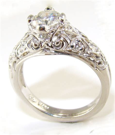 Collection old fashioned style wedding rings   Matvuk.Com