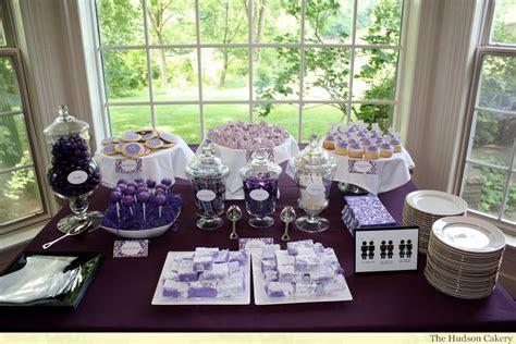 Bridal Shower Dessert Buffet   The Hudson Cakery