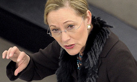 Benita Ferrero Waldner, the European commissioner for external relations