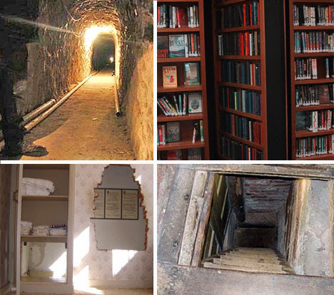 10 Historical Secret Rooms and Hidden Passages | WebUrbanist