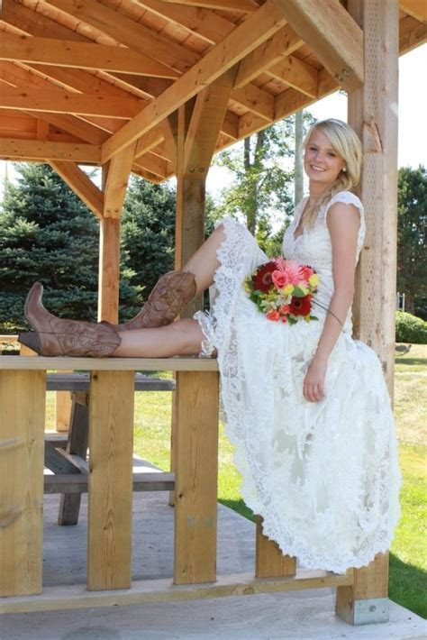 How to Wear Cowboy Boots with a Wedding Dress   McKinney's