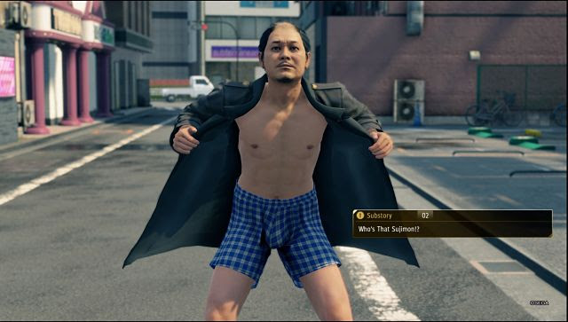Screen grab from Yakuza: Like A Dragon
