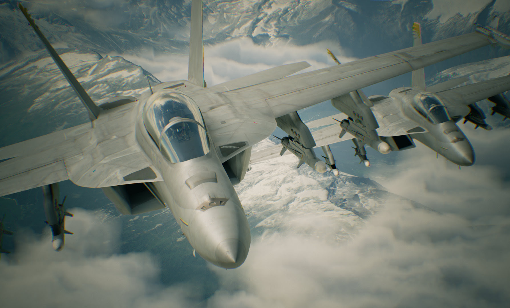 Ace Combat 7's E3 trailer has a bunch of silly questions and overly serious acting screenshot