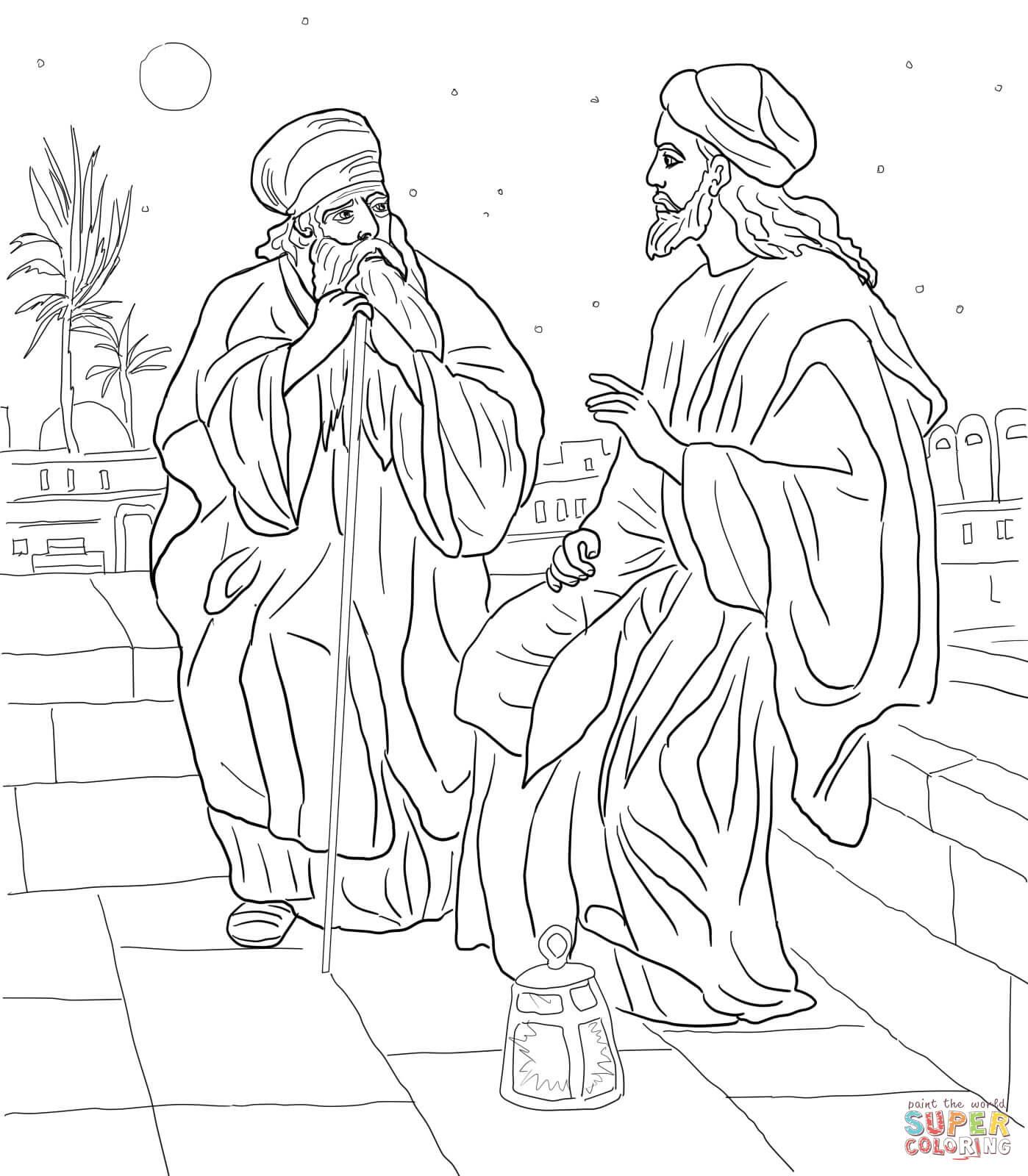 jesus segnet die kinder ausmalbild  top kostenlos färbung