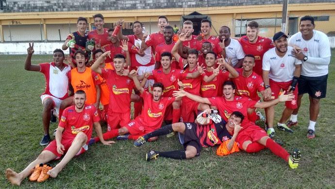 União classificado para decisão do Mato-Grossense Sub-19 (Foto: Israel Prates/TVCA)