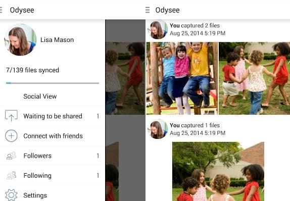 Google adquire Odysee uma aplicação de backup multimédia