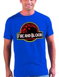 Camiseta Juego de tronos Fire & Blood