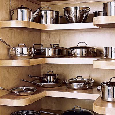 Kitchen Pot And Pan Storage Ideas