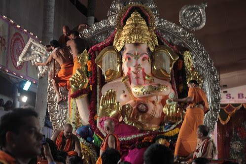 GSB Ganesha - Sab Ka Malik Ek..Visarjan Journey by firoze shakir photographerno1