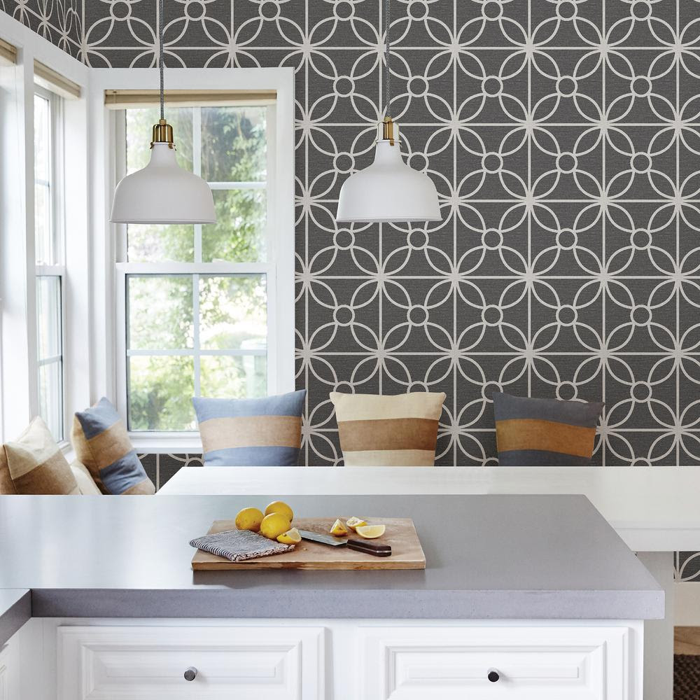 Wallpaper For Kitchen Home Depot