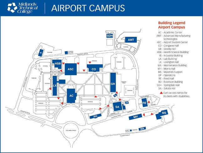 Midlands Tech Campus Map.Midlands Tech Airport Campus Map Camilagripp