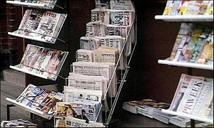 English: Newsstand
