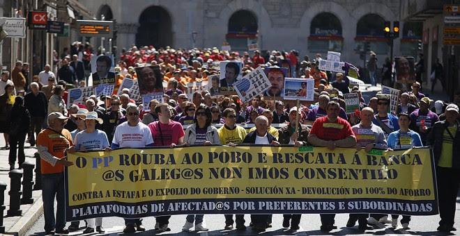 Praza de Galicia. / XESÚS DOMÍNGUEZ