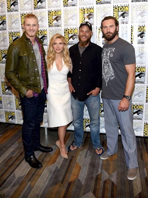 Vikings At Comic Con 2014
